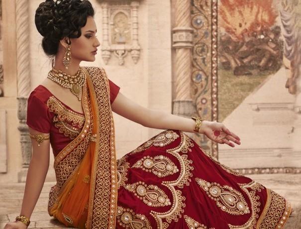 Poshak Wedding Lehnga and Sarees weddingplz