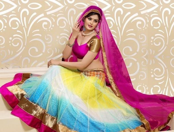Mahaluxmi Collection Wedding Lehnga and Sarees weddingplz