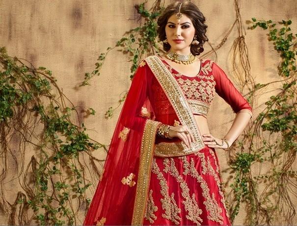 Vicky Bangle World Wedding Lehnga and Sarees weddingplz