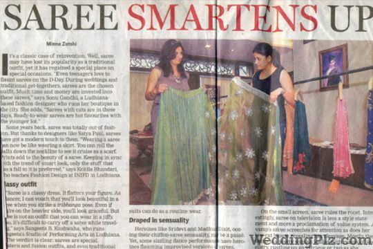 Sonu Gandhi Wedding Lehnga and Sarees weddingplz