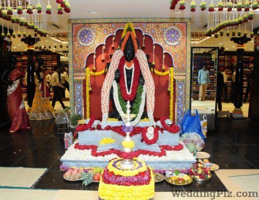 Kancheepuram Varamahalakshmi Silks Wedding Lehnga and Sarees weddingplz