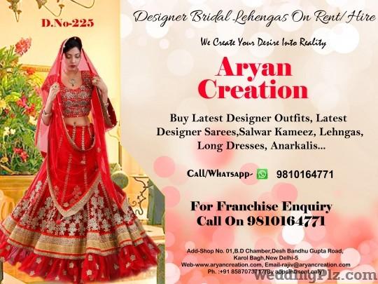 Aryan Creation Wedding Lehnga and Sarees weddingplz