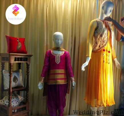Kasidakari Wedding Lehnga and Sarees weddingplz