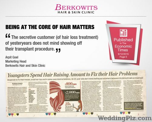 Berkowits Hair and Skin Clinic Slimming Beauty and Cosmetology Clinic weddingplz