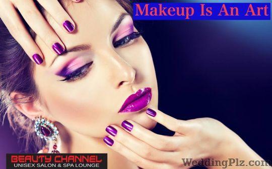 Beauty Channel Unisex Salon and Spa Lounge Beauty Parlours weddingplz