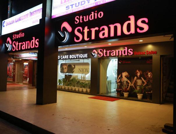 Strands Saloon Nail Art Studios weddingplz