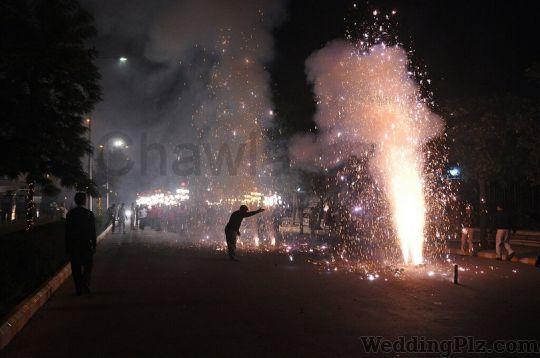 Chawla Band Fireworks and Crackers weddingplz