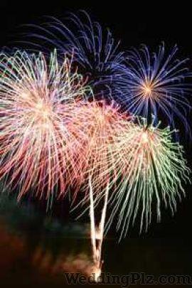 Krishna Band Fireworks and Crackers weddingplz