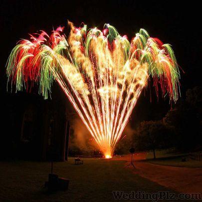 Soni Band Fireworks and Crackers weddingplz