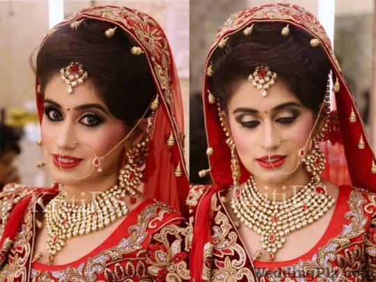 KritiDS The Makeup Artist Makeup Artists weddingplz