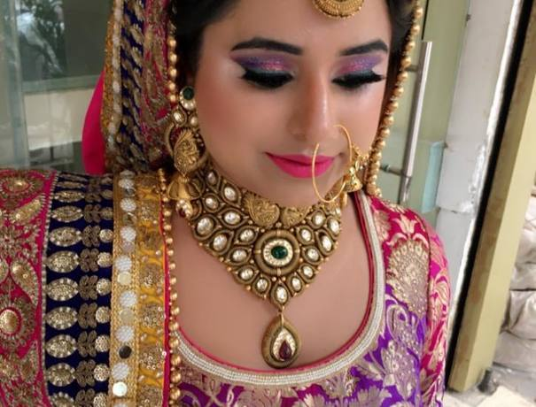 Guneet Virdi Makeup Artists weddingplz