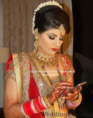 Bridal Makeup By Kajal Sharma Makeup Artists weddingplz