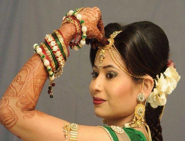 Mehndi Makeup Artist : Portfolio images madhvi parmar makeup artist borivali west