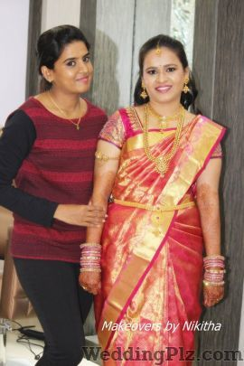 Makeovers by Nikitha Makeup Artists weddingplz