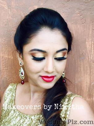 Makeovers by Nikitha Makeup Artists weddingplz