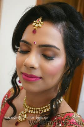 Makeoverdestination by Gpriya Makeup Artists weddingplz