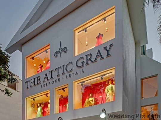 The Attic Gray Fashion Designers weddingplz