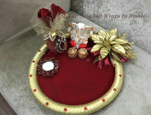 Dazzling Gift Wraps by Rinkle Trousseau Packer weddingplz
