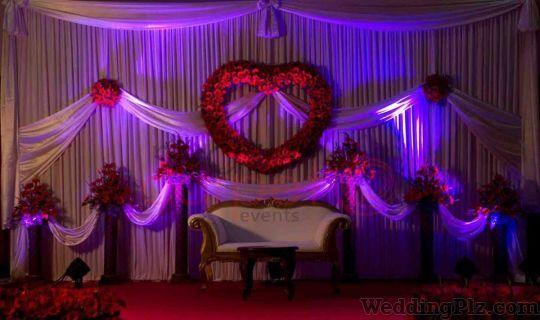 Purple Knots Decorators weddingplz